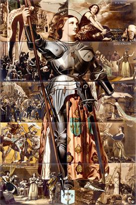 Jeanne d'Arc puzzle2