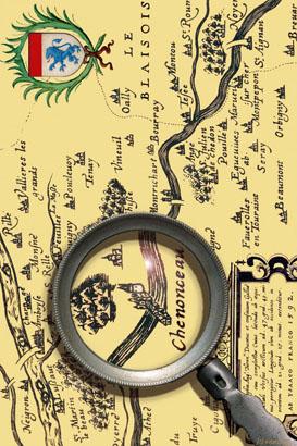 Chenonceau 1592 recto B site
