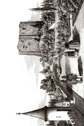 Langeais F ruines site