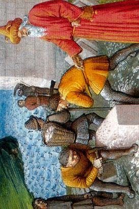 Nemrod batissant Babylone site