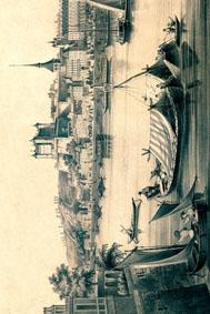 Saumur La Loire 1847 vertic