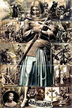 Jeanne d'Arc puzzle1 vertic