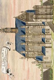 Champigny Gaignieres chapelle icone